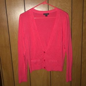 George small 4-6 coral pink cardigan